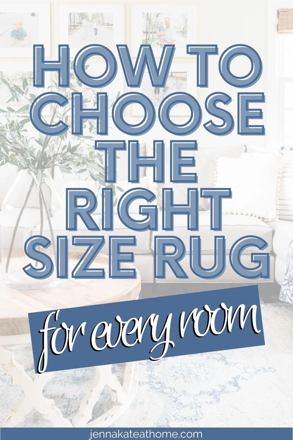 rug placement tips pin