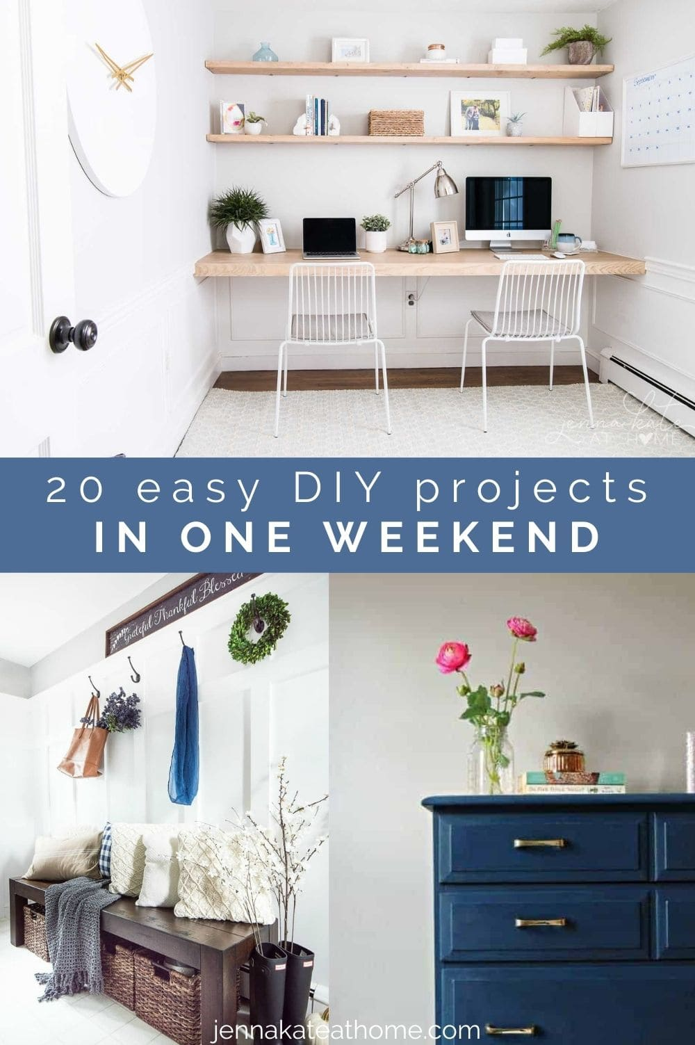 20 DIY Projects in One Weekend pin