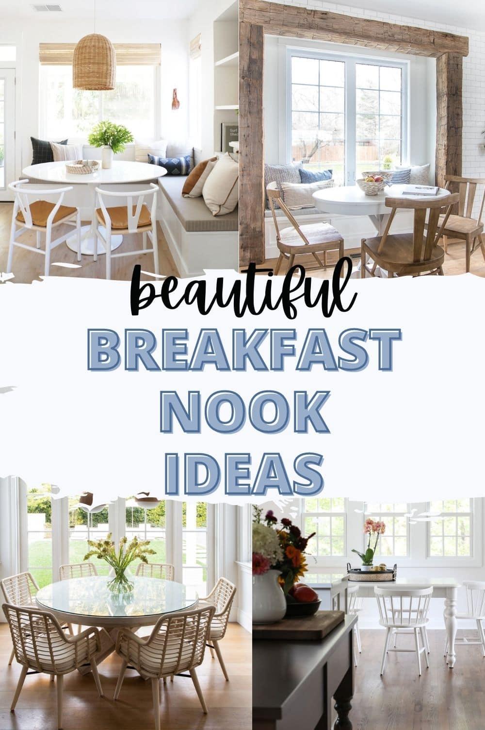 breakfast nook ideas pin