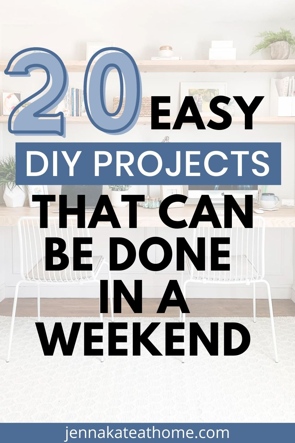 20 easy diy projects for the weekend pin