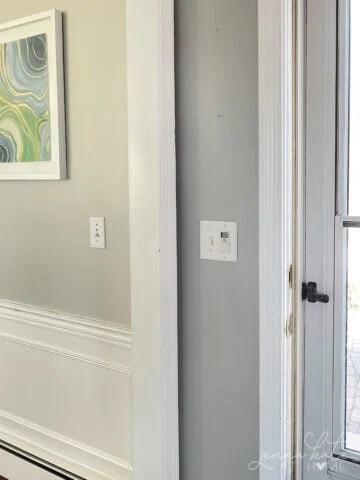 light french gray walls