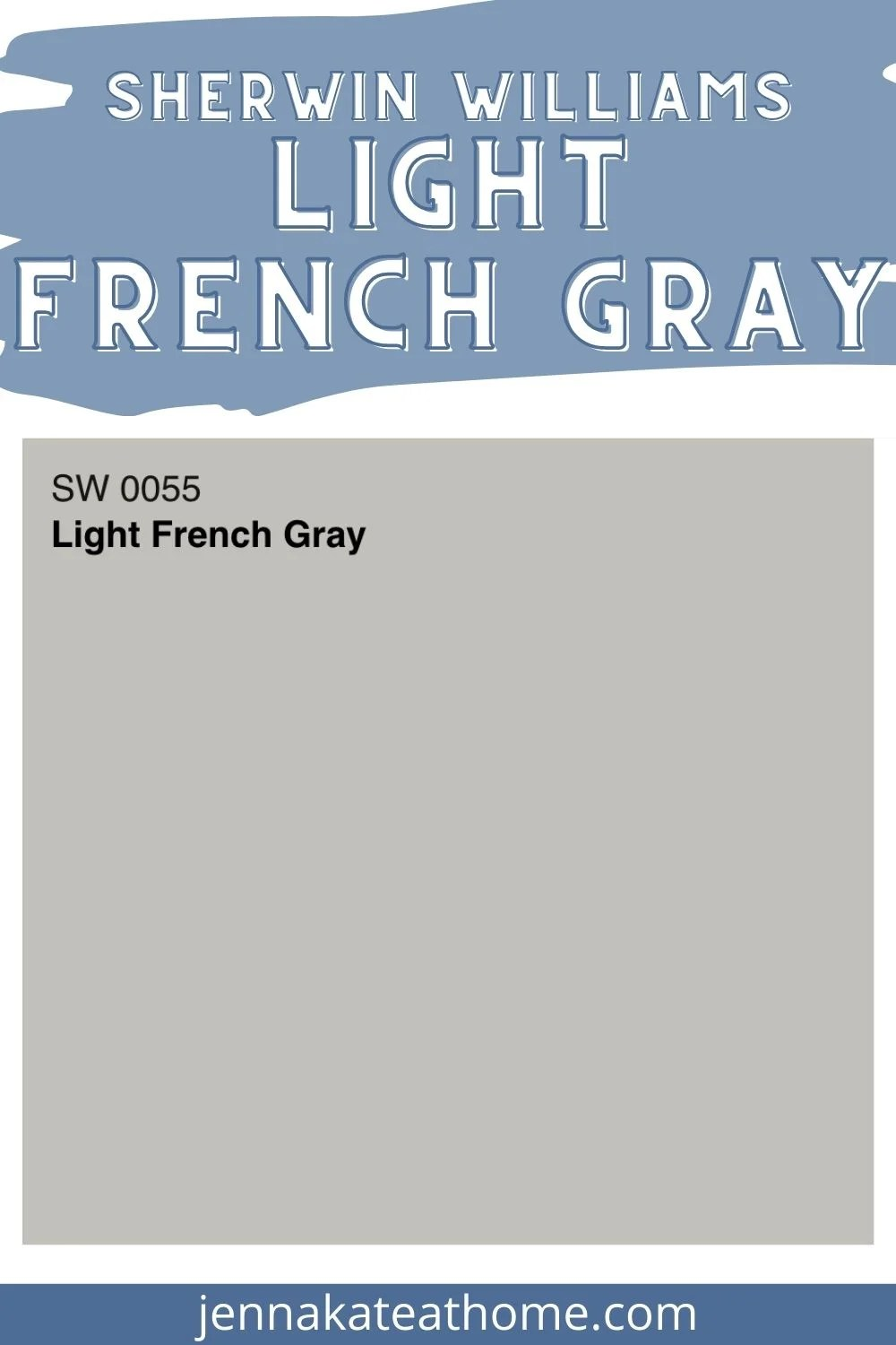 sherwin williams light french gray pin image