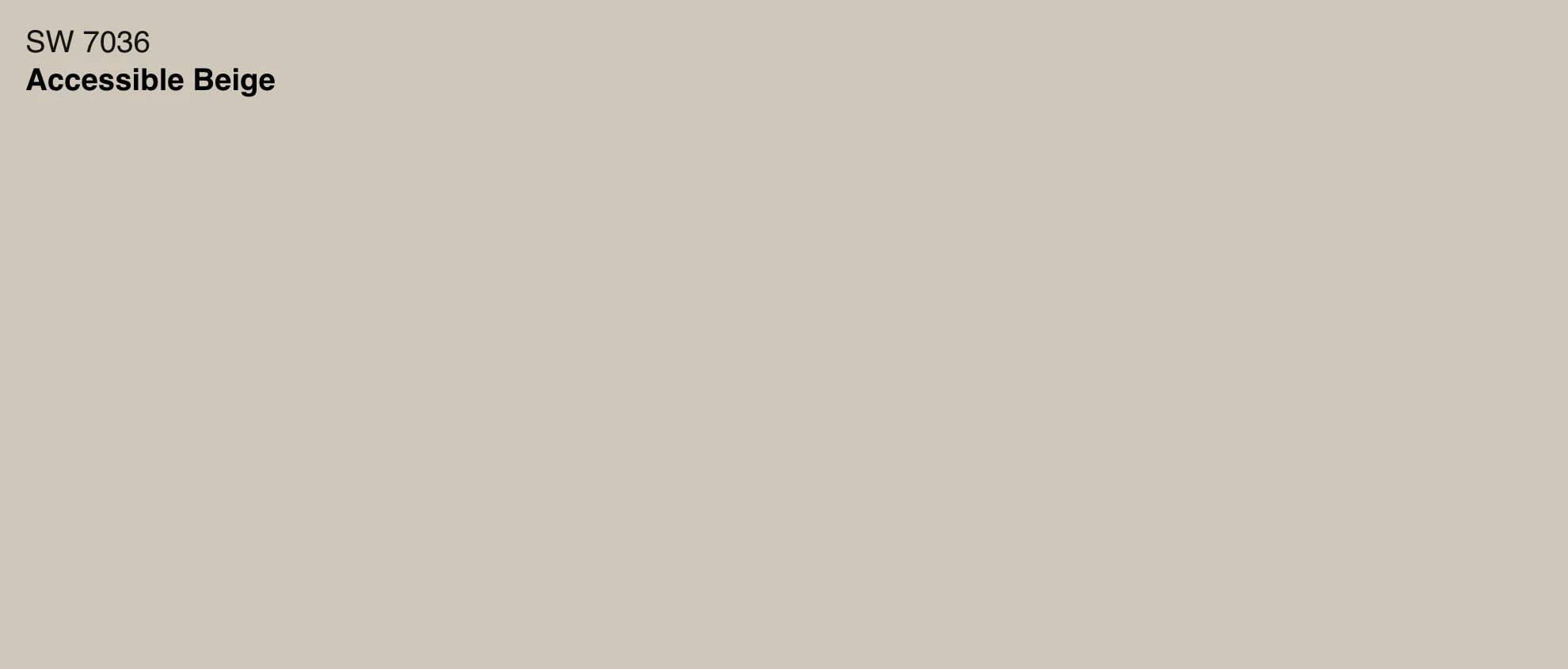 sherwin williams accessible beige swatch