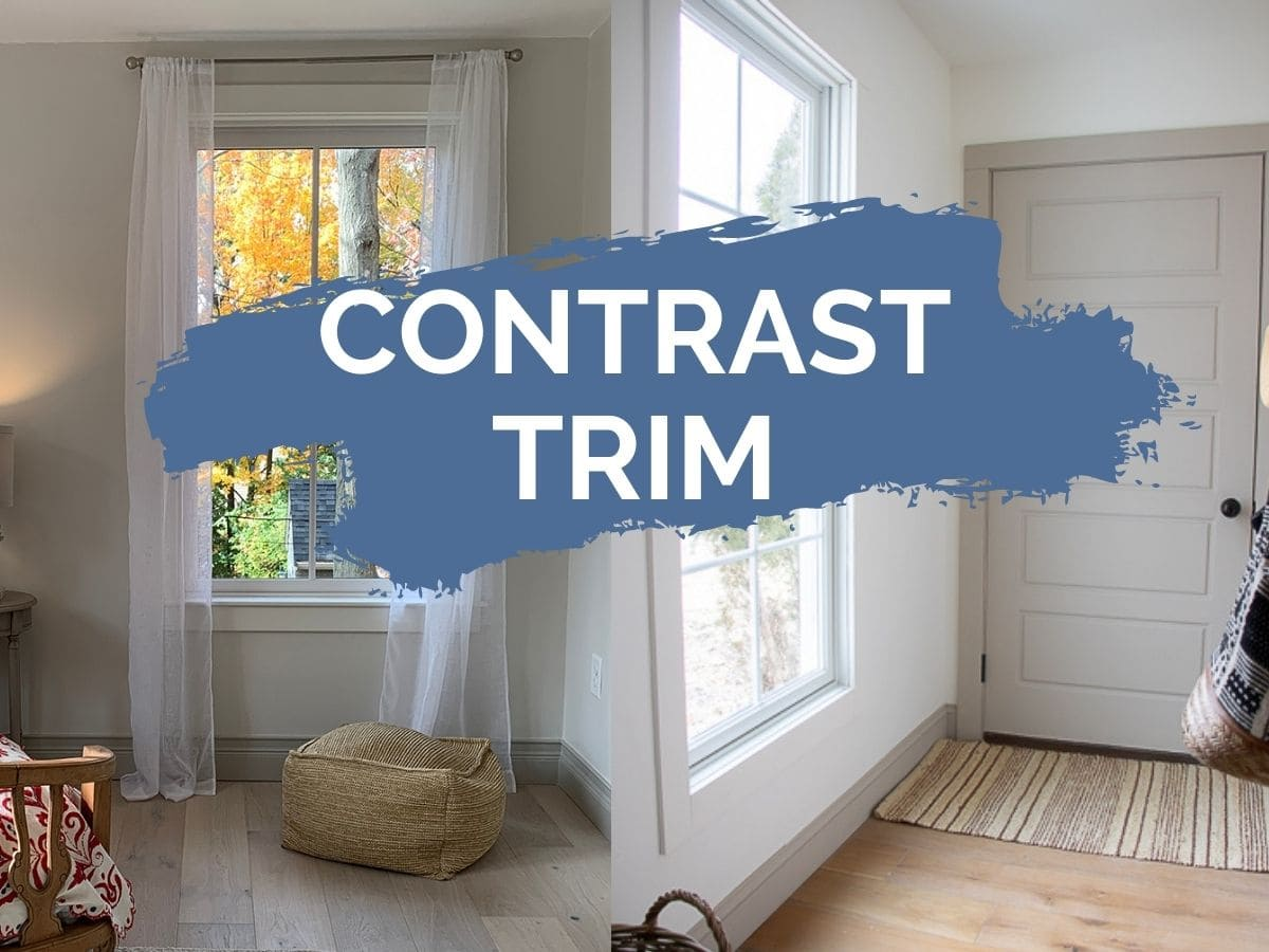 contrast trim header image with text overlay