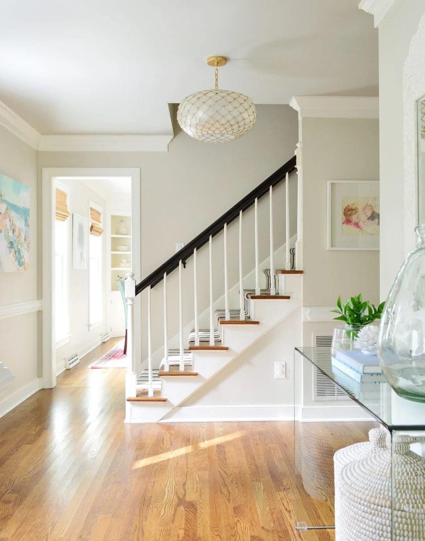 foyer painted edgecomb gray