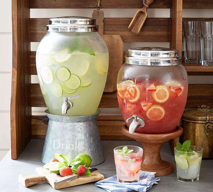 Summer drinks station