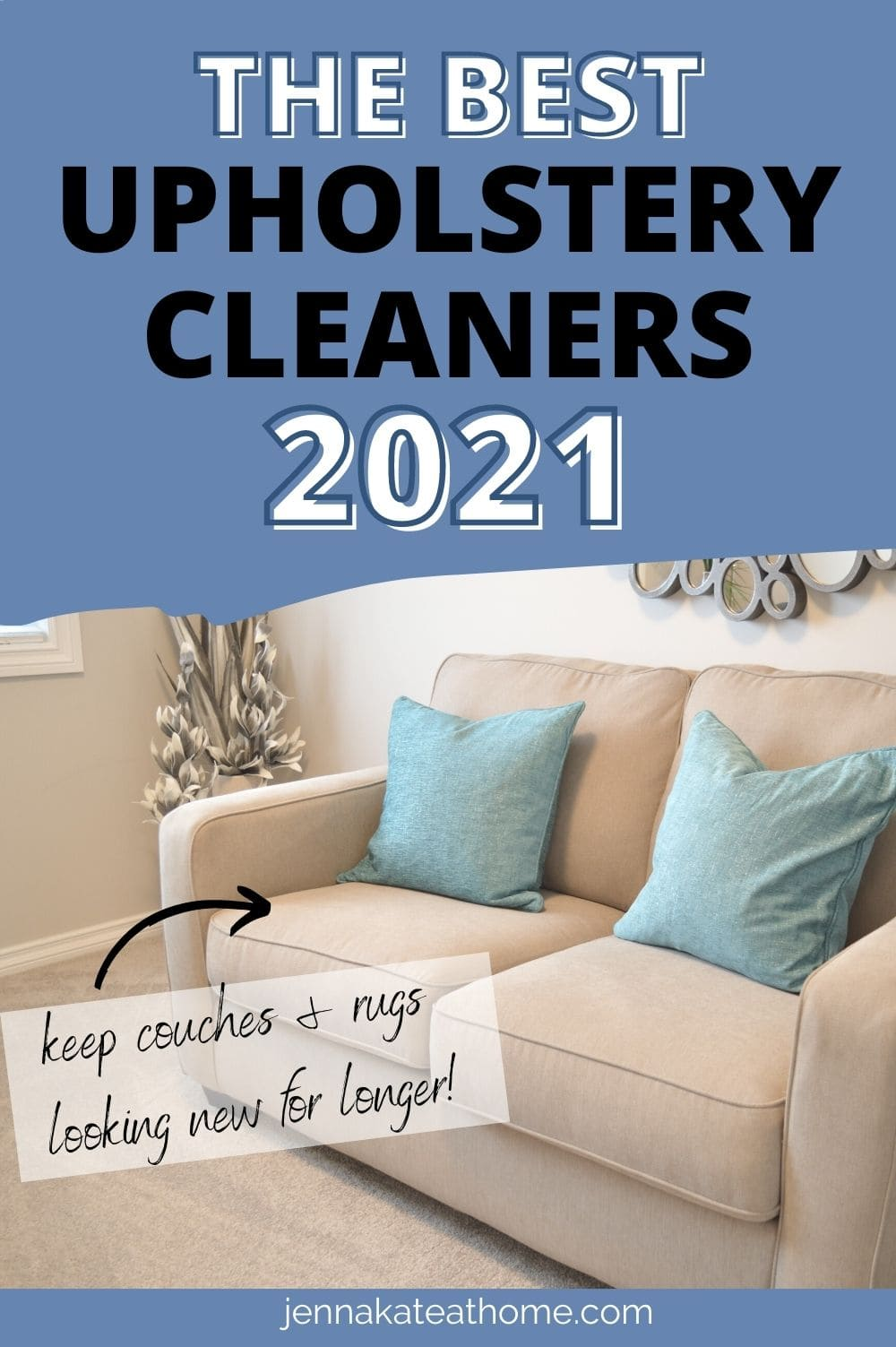best upholstery cleaners 2021 pin