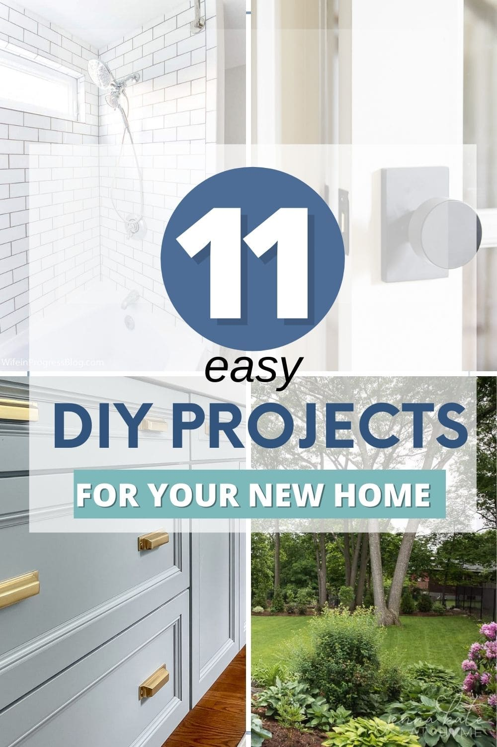 diy projetcts for your new home pin