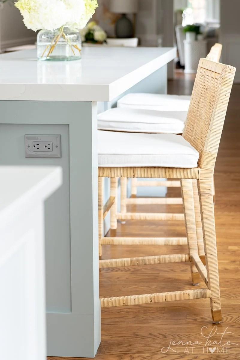 serena and lily balboa rattan counter stools