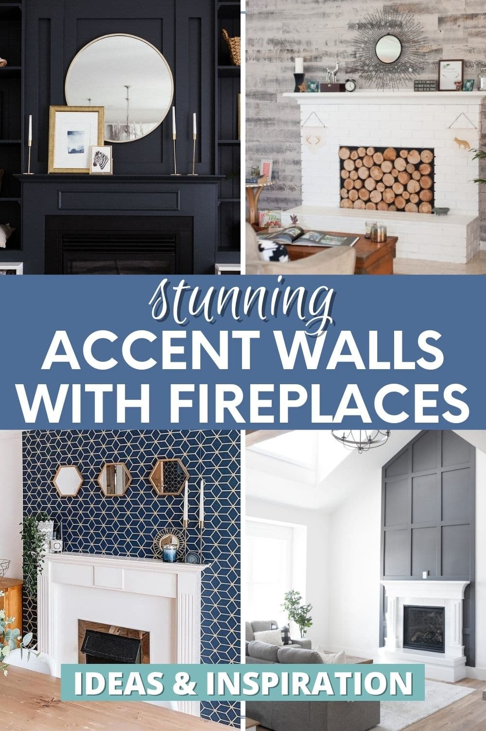 accent walls with fireplaces pin