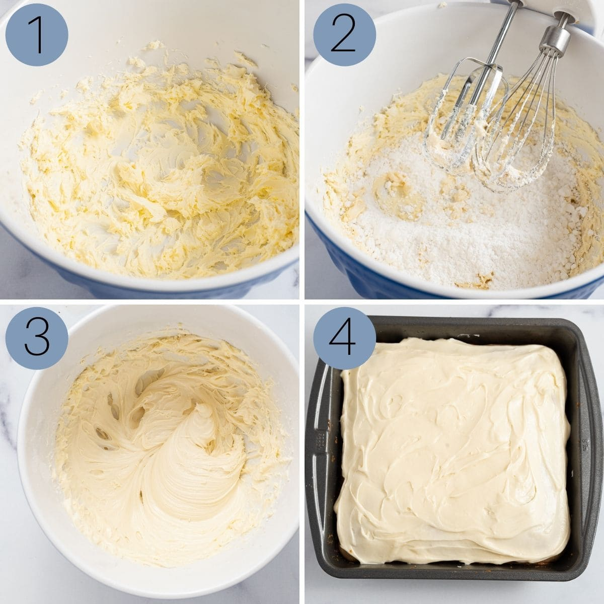 how to make cream cheese frosting for the old fashioned spice cake