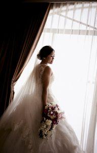 Bridal Portrait with bouquet - Philippines