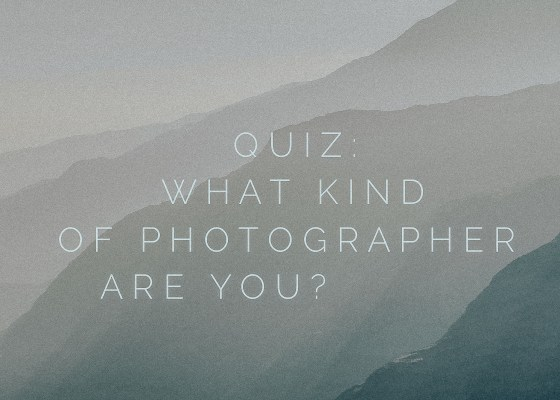 photographer quiz