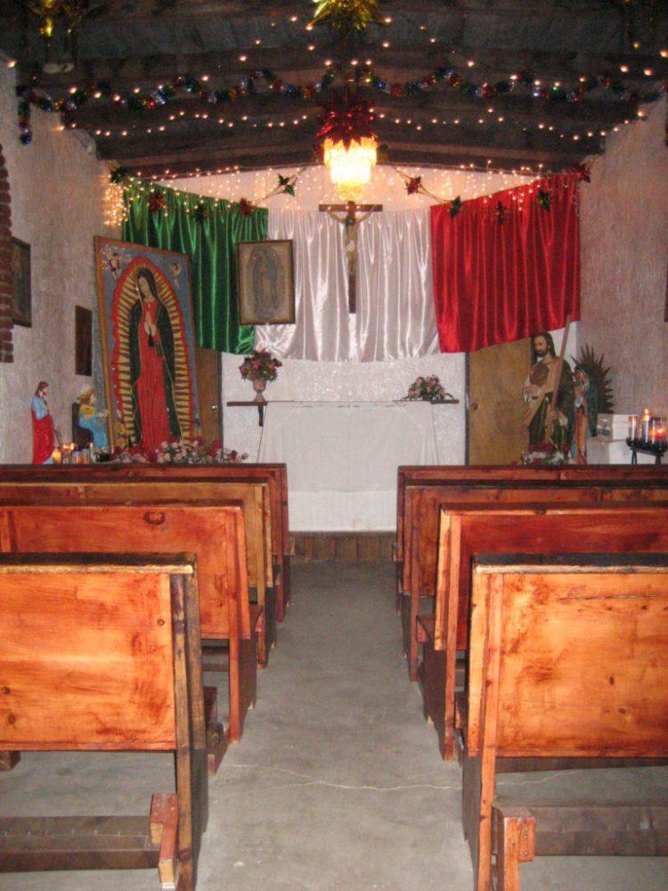 Puerto Nuevo church, Baja California