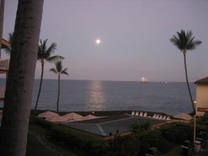 Hawaii Big Island Moonrise