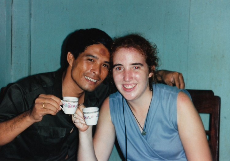 The Vietnamese suitor and Jenna