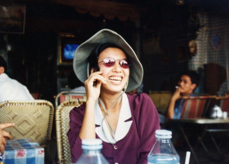 Vietnamese villager in hat