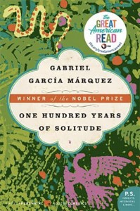 One Hundred Years of Solitude, book by Gabriel Garcia Márquez