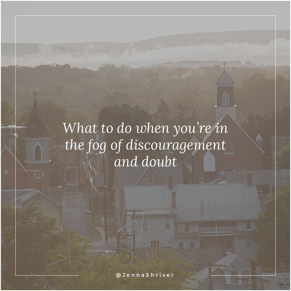 Battling discouragement and doubt in small business and life jenna shriver photography