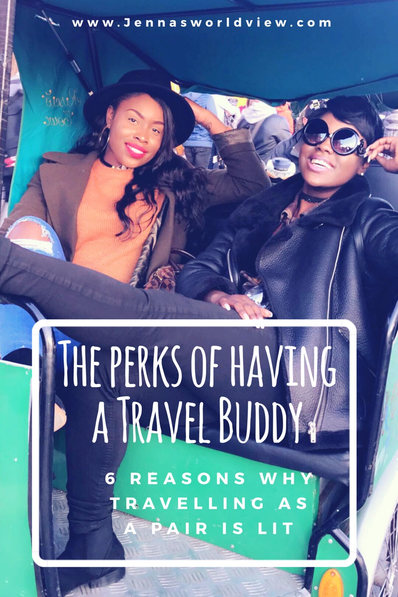 Traveling solo is great, but there is nothing like seeing the world with your Travel buddy. Check out these 6 perks of having a travel buddy! #Travel #solotravel #travelbuddy #travelguide #travelling