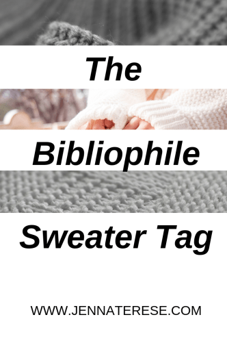 The Bibliophile Sweater Tag-PINTEREST GRAPHIC