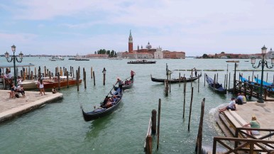 There's more boats in Venice than cars