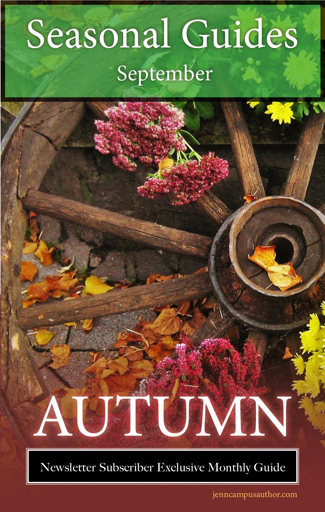 Seasonal Guide for September - Autumn
