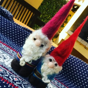 Nisse Tomten Felted Figurines