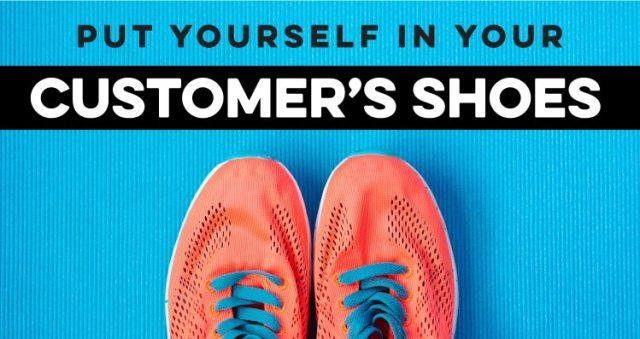 Kết quả hình ảnh cho put your shoes on customer
