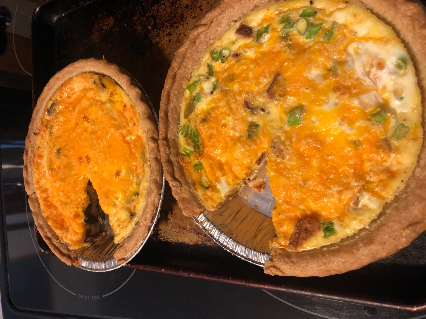 What's Cooking Wednesday: Quiche