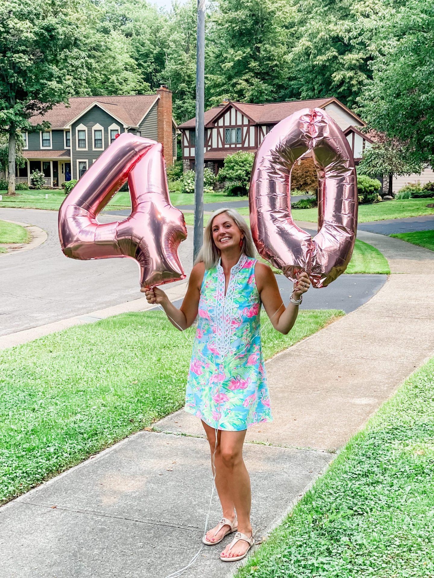 I turned 40!!