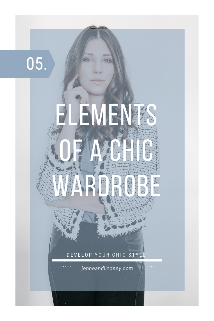 What does it mean to you to be chic? We are explaining what chic means to us and how to create your own chic wardrobe!