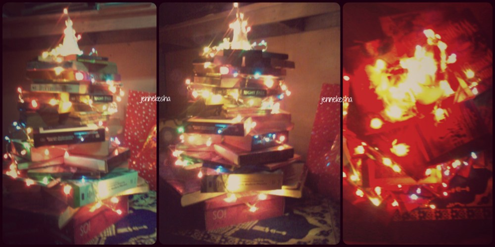 Bookish Christmas Tree ♥ (1/4)