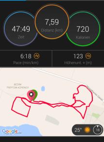 Laufen in den Müggelbergen