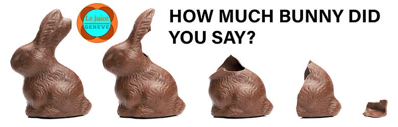 swiss chocolate bunnies
