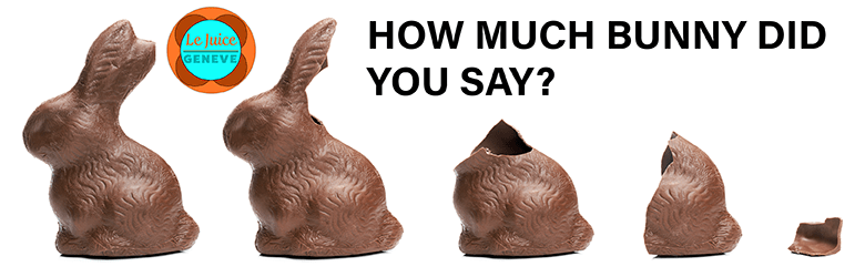 swiss chocolate bunnies