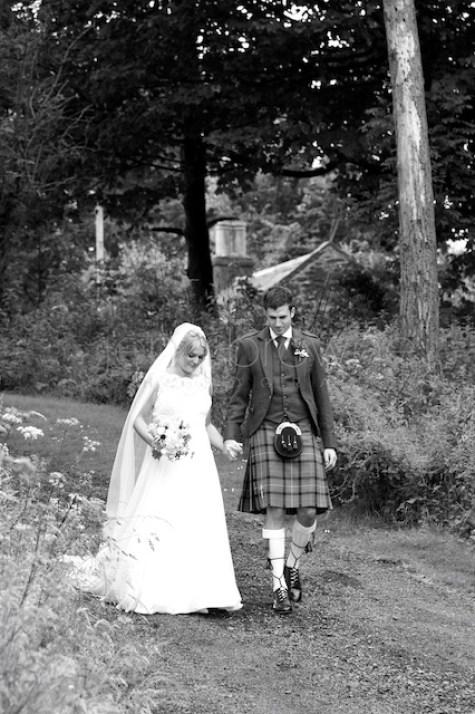 scottish natural wedding photography