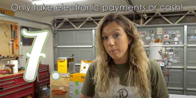 Electronic or cash payments on Facebook Marketplace make everybody feel more secure.