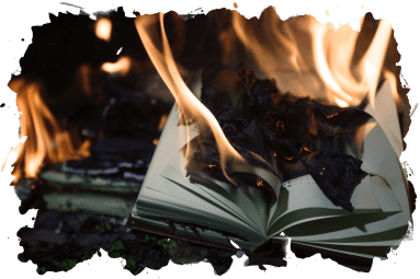 Books on Fire Autumn