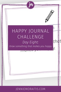 Learn how to draw your day as a fun way to record your gratitude. I've been doing this for years, and I LOVE looking back on journals filled with happiness. I'll show you how easy it is today.