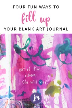 I need to get out my art supplies and try these! Looks like so much fun to art journal. :)