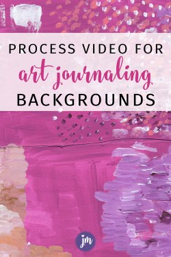 So cool! This is a great way to jump into art journaling! This process video for art journaling backgrounds (plus free printable) really helped me to see how to use these printable papers. LOVE! #startanartjournal #artjournal #artjournaling #artjournalingbackground