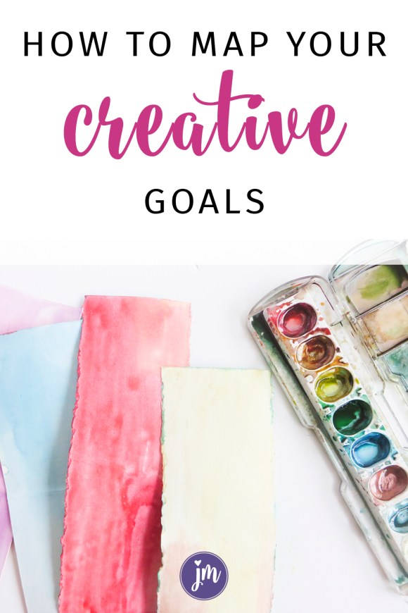 How to Make a Goal Map for Creatives | Jennie Moraitis