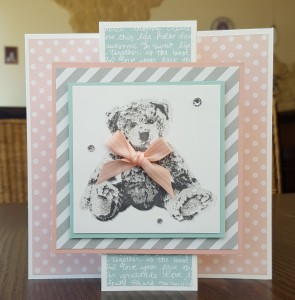 Standing Tri-fold Card
