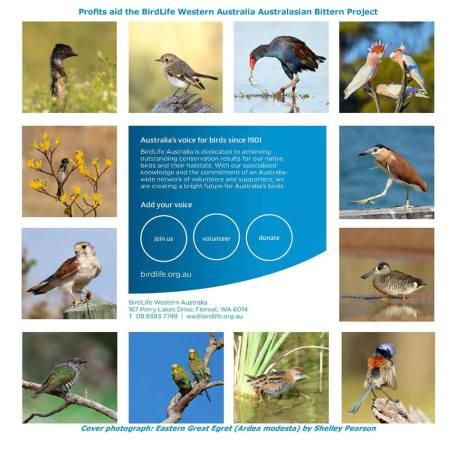 Birdlife WA calendar for 2017