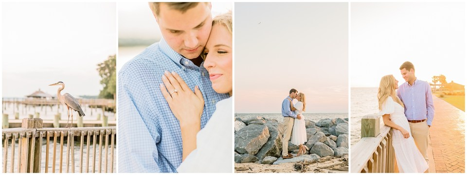 Grand Hotel Point Clear, Alabama engagement session on the bay