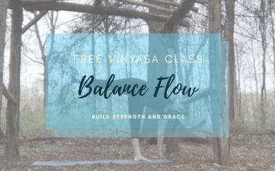 30 Min Balance Yoga Flow