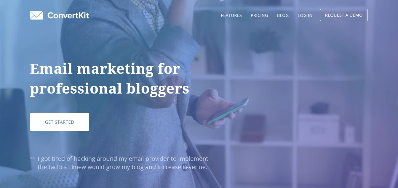 Email Marketing For Professional Bloggers at ConvertKit.com.