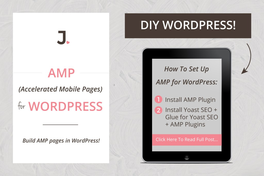 How To Set UP AMP For WordPress   Accelerated Mobile Pages: I show you how to set up AMP pages on your WordPress site and the reason why I did so at Jennifer-Franklin.com.