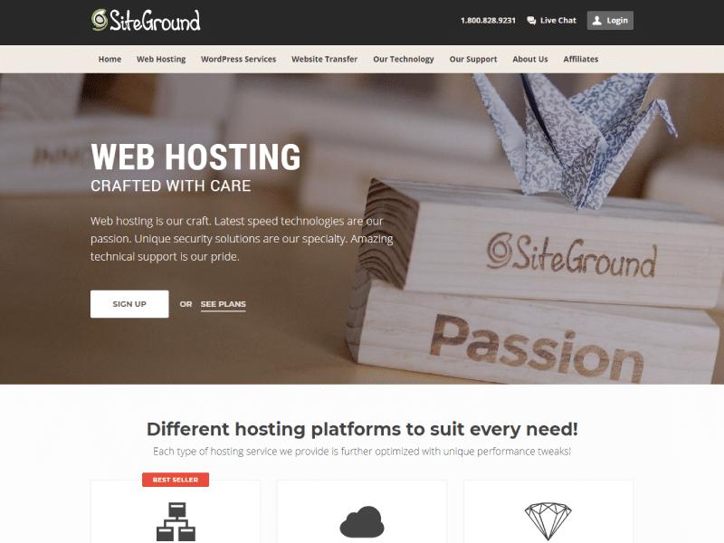 WordPress Resources   Web Hosting   SiteGround   Jennifer-Franklin.com